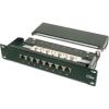 "Digitus DN-91508S patch Panel 8 port 1U 10"" CAT 5e árnyékolt"