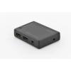 Digitus Mini Switch HDMI 4-port; 4096x2160p 4K UHD 3D; HDCP1.4; with remote control