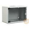 Digitus ® SoHo fali rack szekrény 9U Cabinet 9U Compact sorozat - 520 x 400 mm