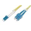 Digitus üvegszálas optikai patch kábel ; duplex SM 9/125 LC / SC 3m