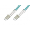 Digitus üvegszálas optikai patch kábel ; LC / LC OM3 1m