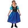 Disney hercegnők: Jégvarázs Anna hercegnő jelmez - 104 cm-es méret - ELŐRENDELHETŐ*