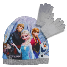 Disney Jégvarázs sapka és kesztyű szett - szürke, 52 ajándéktárgy