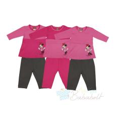 Disney Minnie 2 részes baba, gyerek szett (méret: 74-116)