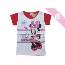 Disney Minnie Mouse piros póló, trikó(110) - Új