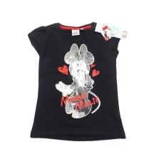 Disney Minnie-s nyári póló, trikó - fekete (104) - Új