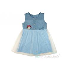 Disney Minnie ujjatlan nyári ruha (méret: 74-122)