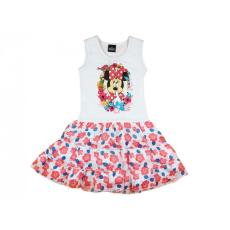 Disney Minnie ujjatlan virágos muszlin aljú ruha-98