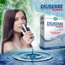 DIURERBE(R) FORTE tabletta - Természetes vízhajtó és salaktalanító gyógyhatású készítmény
