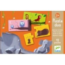 DJECO Mom and baby puzzle, kirakós