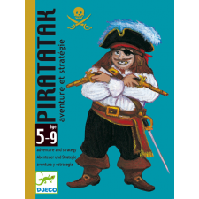 DJECO Piratatak Kártya kártyajáték