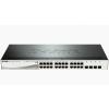 DLINK D-Link Switch 20x1000Mbps+4x1000/SFP Smart PoE