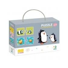Dodo puzzle duo - Anya és kicsinye puzzle, kirakós