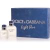 Dolce & Gabbana (D&G) Light Blue pour Homme férfi parfüm Set (Ajándék szett) (eau de toilette) edt 125ml + edt 40ml