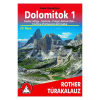 Dolomitok 1 túrakalauz / Bergverlag Rother