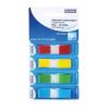 DONAU 12x45 mm műanyag vegyes színű jelölőcímke (4x35 lap)