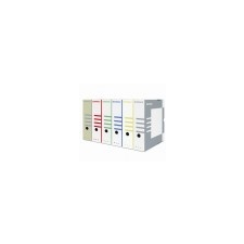 DONAU Archiváló doboz, A4, 120 mm, karton, DONAU, natúr irattartó