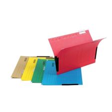 DONAU Függőmappa, oldalvédelemmel, karton, A4, DONAU, sárga mappa