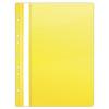 DONAU Gyorsfűző, lefűzhető, PVC, A4, DONAU, citromsárga (D1704S)