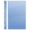 DONAU Gyorsfűző, lefűzhető, PVC, A4, DONAU, kék (D1704K)