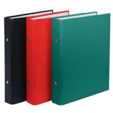 DONAU Gyűrűs könyv, 2 gyűrű, 30 mm, A5, PP/karton, , fekete gyűrűskönyv