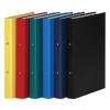 DONAU Gyűrűs könyv, 2 gyűrű, 35 mm, A4, PP/karton, , citromsárga