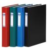 DONAU Gyűrűs könyv, 2 gyűrű, 40 mm, A4, PP/karton, , zöld