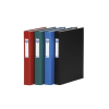 DONAU Gyűrűs könyv, 4 gyűrű, 40 mm, A4, PP/karton, DONA