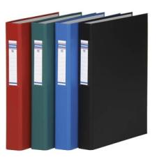 DONAU Gyűrűs könyv, 4 gyűrű, 40 mm, A4, PP/karton, , fekete gyűrűskönyv