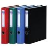 DONAU Gyűrűs könyv, 4 gyűrű, D alakú, 45 mm, A4, PP/karton, , piros