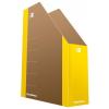 DONAU Iratpapucs, karton, 80 mm, DONAU  Life , neon sárga