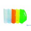 DONAU Iratpapucs műanyag 70 mm áttetsző kék