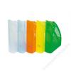 DONAU Iratpapucs, műanyag, 70 mm, DONAU, áttetsző zöld (D74621Z)