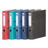 """DONAU Iratrendező, 50 mm, A4, karton, élvédő sínnel, DONAU """"Eco"""", kék"""