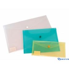 DONAU Irattartó tasak DL PP patentos 220X110X0 18 kék irattartó