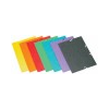 DONAU Premium prespán karton gumis mappa lila