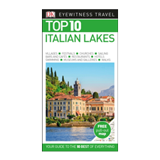 Dorling Kindersley Ltd Top 10 Italian Lakes idegen nyelvű könyv