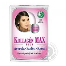 Dr.chen Kollagén MAX Plus tabletta 30 db vitamin és táplálékkiegészítő