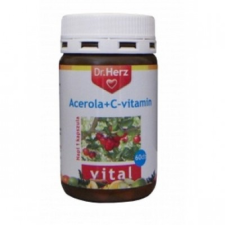 Dr Herz Acerola+C vitamin kapszula vitamin