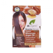 Dr Organic Dr. Organic regeneráló hajpakolás marokkói bio argán olajjal, 200 ml hajregeneráló