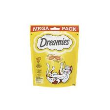 Dreamies Mega Pack Töltött falatkák sajtos 180g jutalomfalat macskáknak