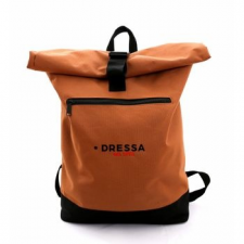 Dressa Rolltop hátizsák - caramel kézitáska és bőrönd