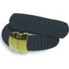 DSE HIP-HOP Jewels - Icon - szilikon-nemesacél karkötő - fekete