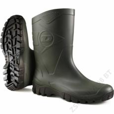Dunlop DEE k580011 rövidszárú zöld pvc csizma -43