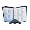 DURABLE Bemutató tábla tartó -5540/01- asztali 5db táblához SHERPA DURABLE
