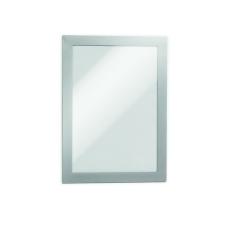 DURABLE Információs tábla -4882/01- mágneses öntap hátlap A4 fekete DURAFRAME információs tábla, állvány