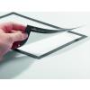 DURABLE Információs tábla -4883/23- mágneses öntap hátlap A3 grafit DURAFRAME