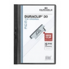 DURABLE Klippmappa -2200/01- 30 lapig fekete Duraclip DURABLE