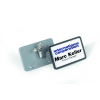 DURABLE Névkitűző kombi klippel 40x75 mm 25db/csom DURABLE CLIP CARD