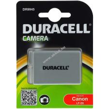 DURACELL akku Canon EOS Rebel T3i (Prémium termék) canon videókamera akkumulátor